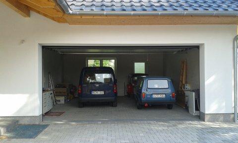 Garage beim Einzug