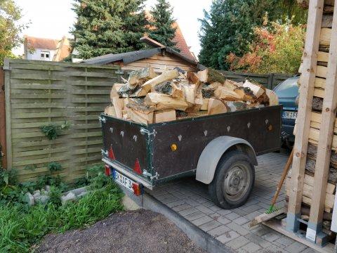 Holzlieferung 2