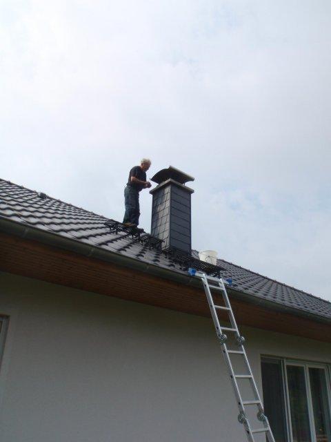 Vaddern auf dem Dach