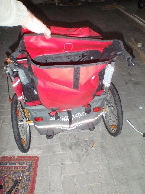 Gepäcktasche montiert 2