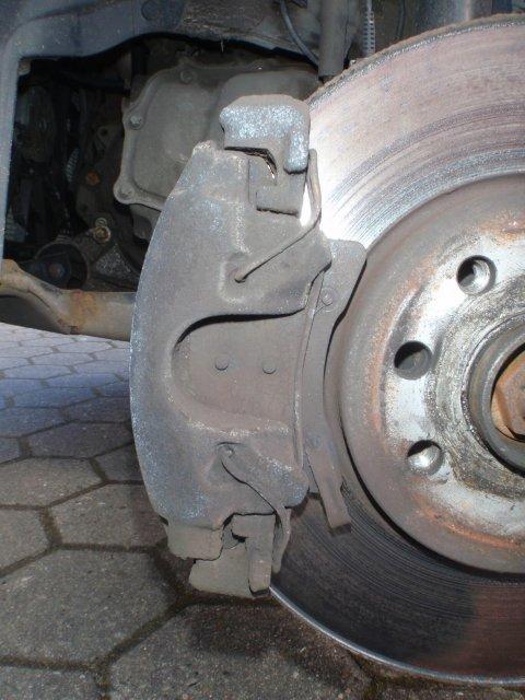 alte Bremsanlage