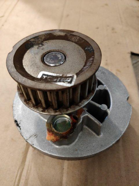 Undichte Pumpe Detail