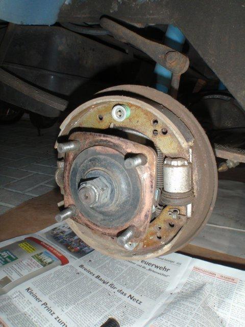 Übersicht Bremsmechanik
