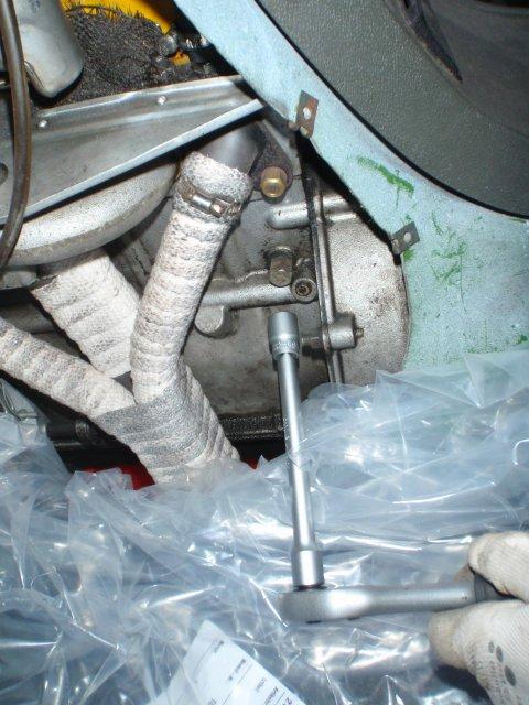 Kühlwasser-Ablassschraube
