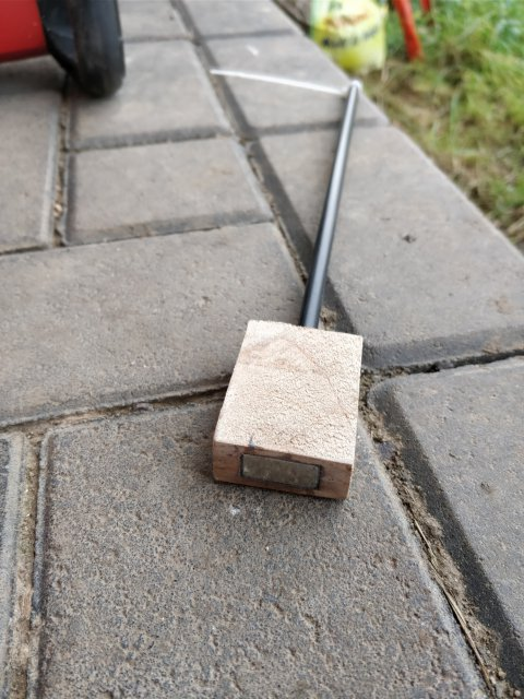 Rechteckiger Magnet
