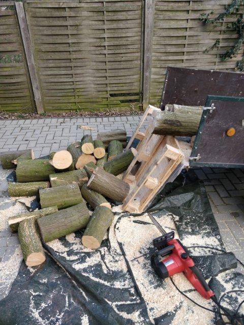 Holz gesägt
