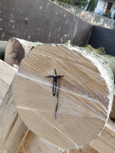 Metall im Holz
