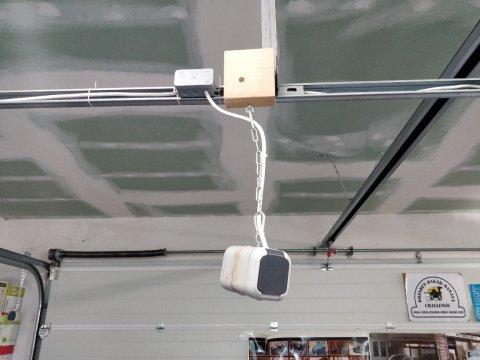 Elektrik angeschlossen