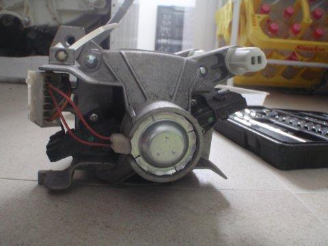 Rückseite Motor