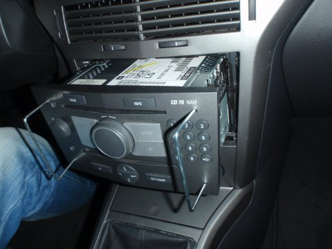 Original Radio Ausbau