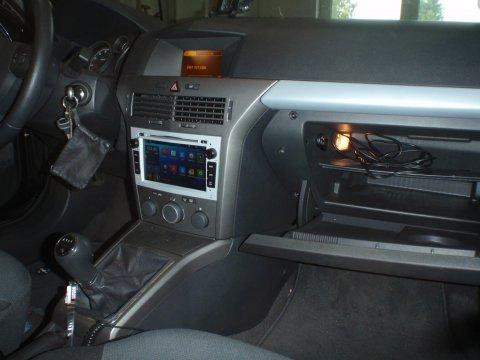 Radio eingebaut