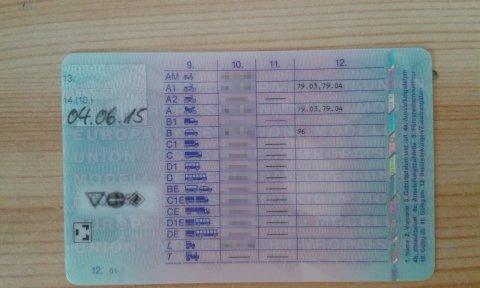 Führerschein B96
