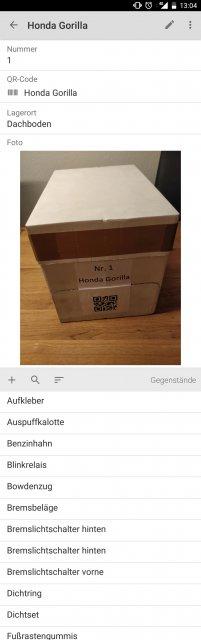 Kiste Einzelansicht