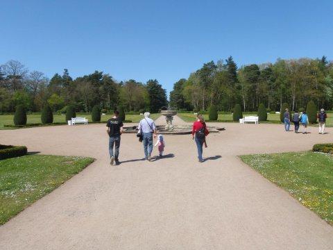 Schloss Oranienbaum - Parkseite
