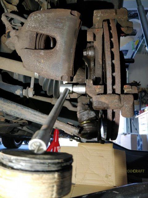 Bremssattelhalter Schrauben