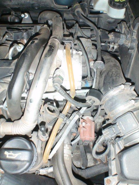 Dieselleitung zur Hochdruckpumpe